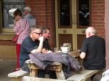 Ian, Gary & Paul, Tanswell's Commercial Hotel, Beechworth, 2016.