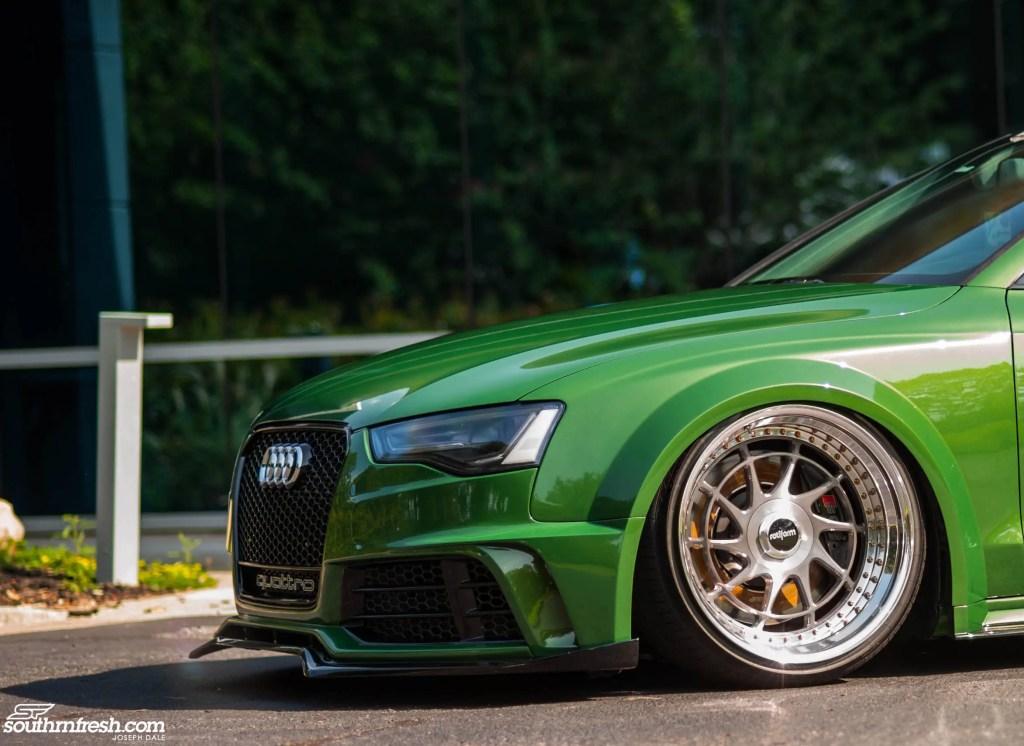 Audi A5 SR66 wide body kit