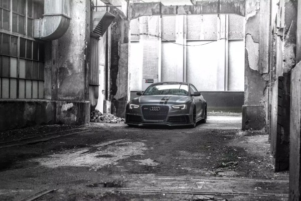 Supercharged Audi S5 SR66 wide body kit