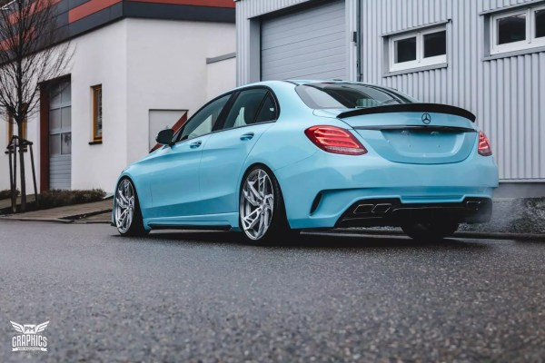 Mercedes-Benz C W205 SR66-R body kit