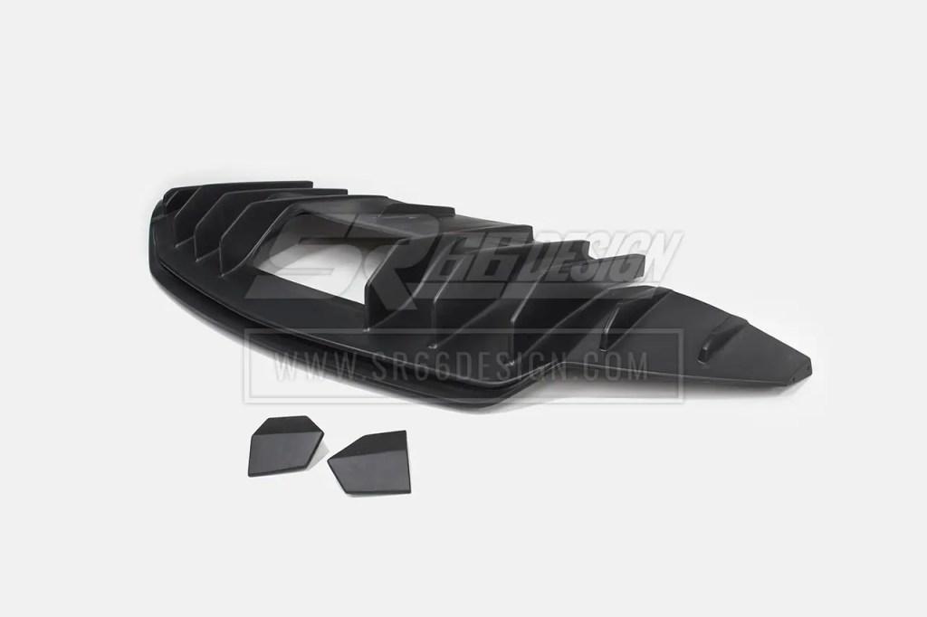 diffuser - Audi R8 SR66 wide body kit