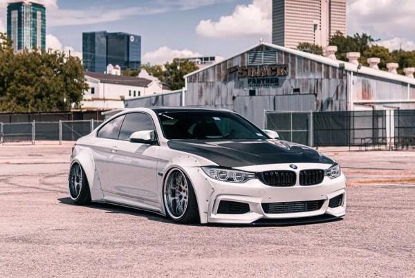 BMW 4series (F32, F33, 428i, 435i, 440i) SR66 wide body kit