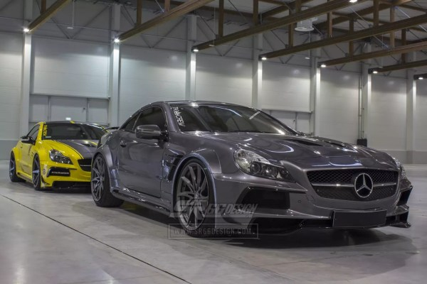 Mercedes-Benz SL R230 (SL500) SR66.1 wide body kit