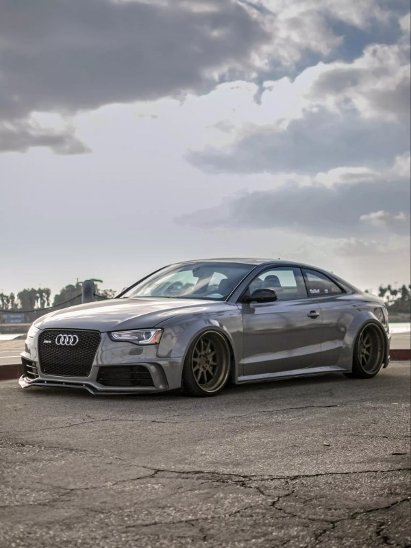 Supercharged Audi RS5 SR66 widebody kit