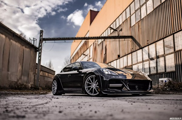 Wide body kit for Porsche Panamera Turbo 970.2