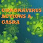 NEWS dispositif CASRA – Coronavirus