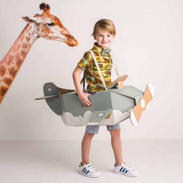avin de cartn de juguete para desarrollar la creatividad