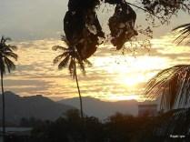 Sunset in Madhampatti Mountains