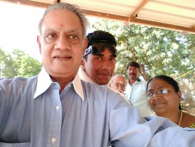 With Pradeep