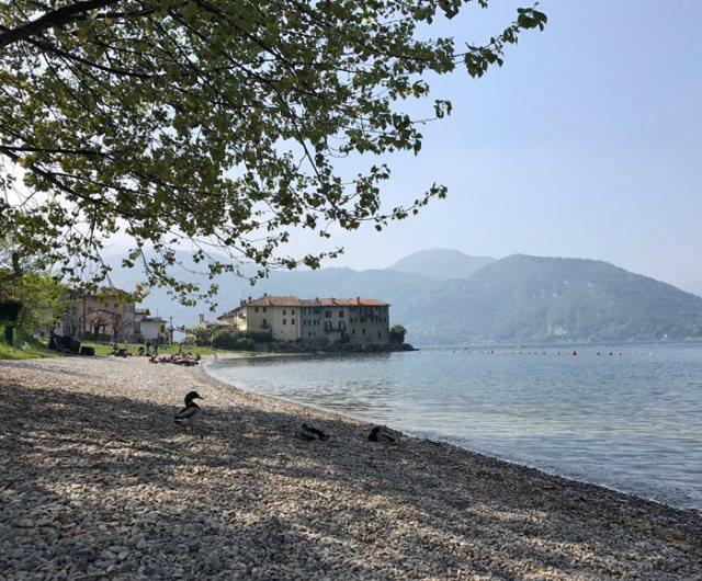 Riva Bianca a Lierna è un posto imperdibile visitando il Lago di Lecco