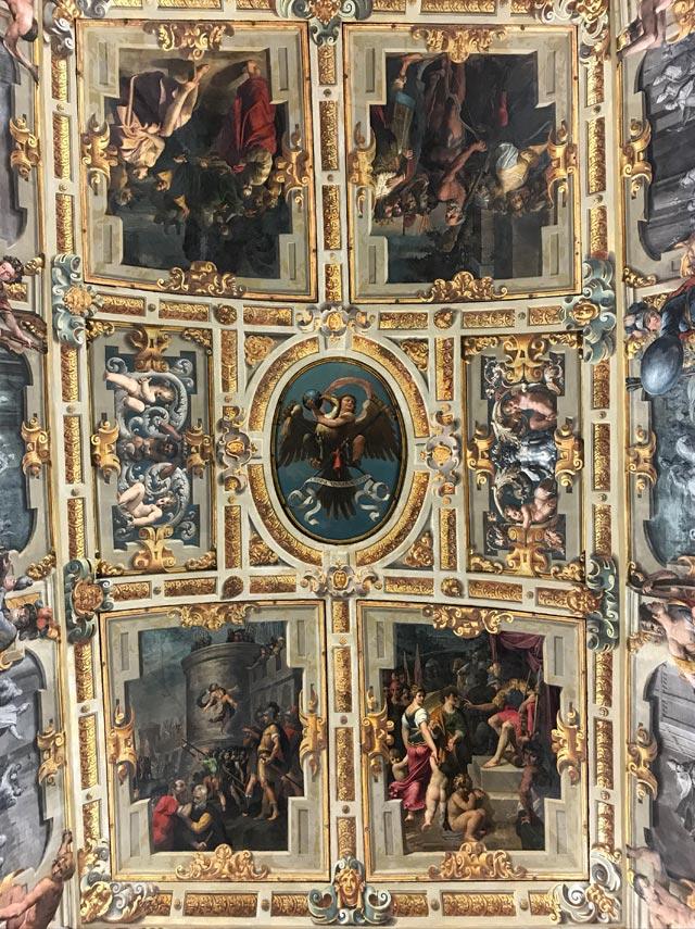Visitare il Palazzo Ducale di Modena e i suoi soffitti dipinti
