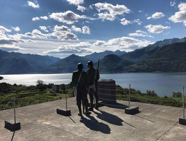 La fortezza di Montecchio Nord è da vedere quando si visita l'Alto Lago di Como