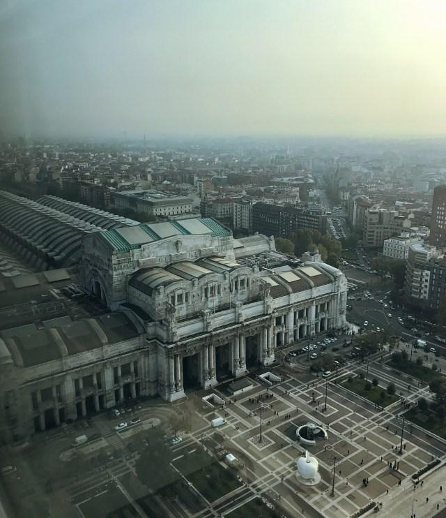 La vista più bella di Milano? Certamente quella dai grattacieli di Porta Nuova