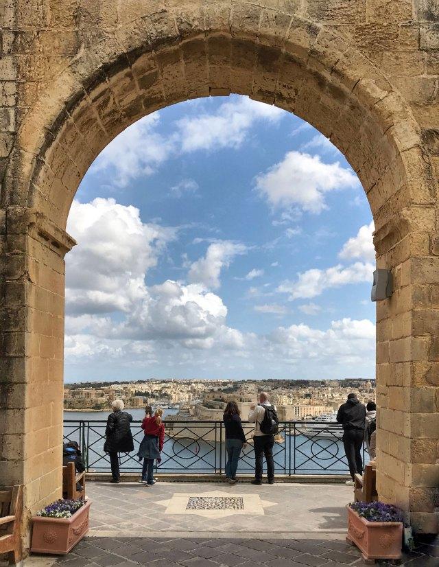 Il migliore punto panoramico di Malta? Senza dubbio gli Upper Barrakka Gardens alla Valletta