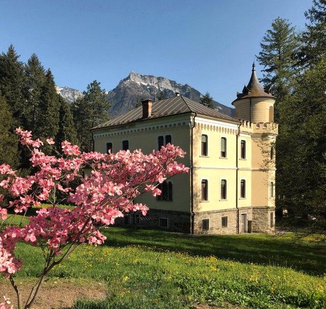 Il Parco delle Terme di Levico è da vedere per visitare la Valsugana