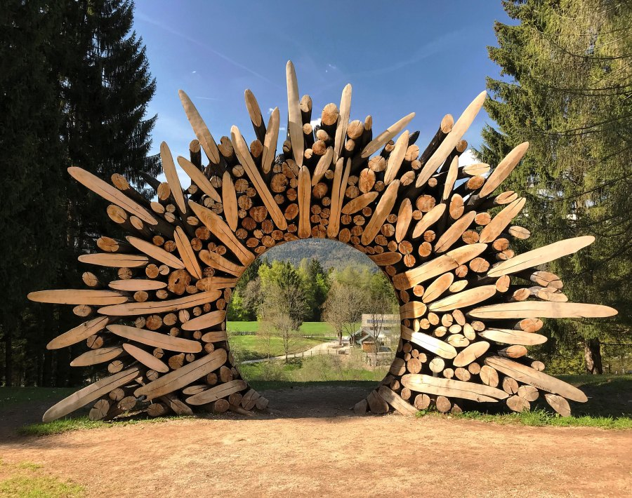 Arte Sella è uno dei Grandi Giardini Italiani della Valsugana