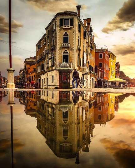 Uno degli angoli nascosti che piacciono di più a Venezia: quello di via Garibaldi
