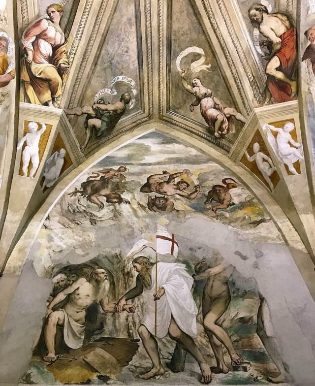 Un tesoro del Lago d'Iseo: la chiesa di Santa Maria della Neve a Pisogne, con i meravigliosi affreschi del Romanino