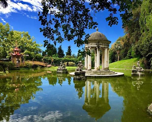 Chi viene a fotografare a Genova non può assolutamente perderselo: questo parco è meraviglioso!