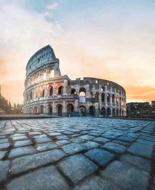Che foto fare a Roma? Di certo il Colosseo, simbolo della Città Eterna e della sua grande bellezza