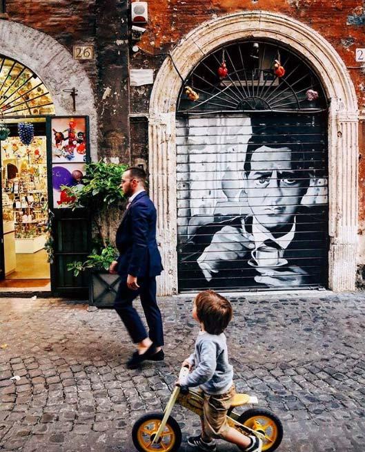 Quali profili Instagram seguire se si ama Roma? Di certo @isamuko