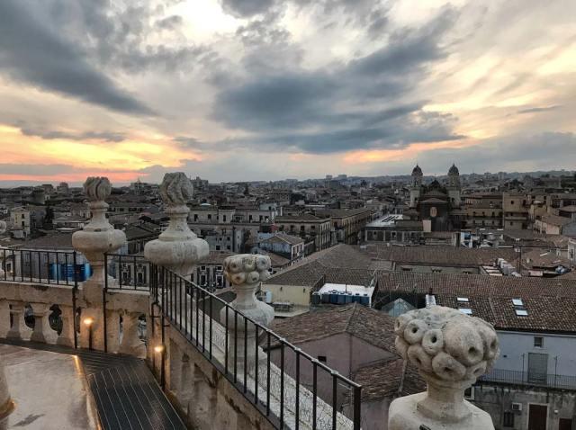 Il più bel panorama di Catania? Certamente dalla cupola della Badia Sant'Agata