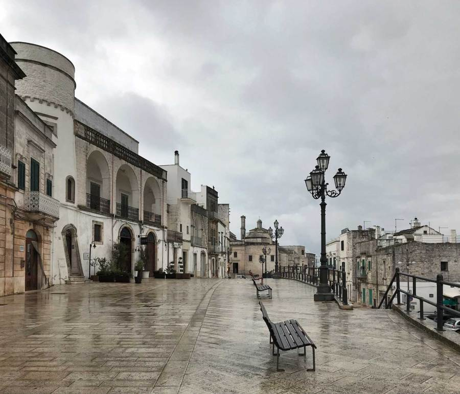 Cisternino in Puglia è uno dei borghi più belli d'Italia.