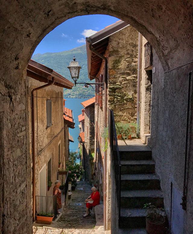 Corenno Plinio è un borgo da visitare nella parte alta del lago di Como.