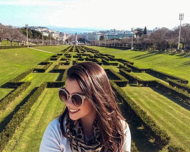 I giardini geometrici di Parque Eduardo VII è una delle cose da vedere a Lisbona