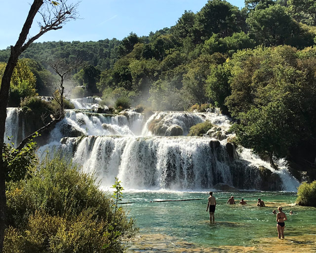 Il Parco Nazionale Krka è uno dei posti più belli della Croazia: da non perdere