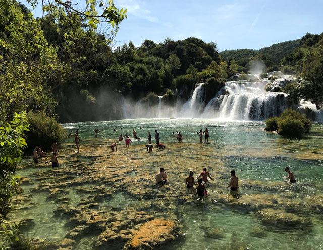 Il Parco Nazionale Krka è un posto da vedere almeno una volta nella vita