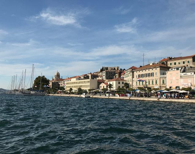 Sebenico in Croazia è Patrimonio Unesco per le sue fortificazioni militari