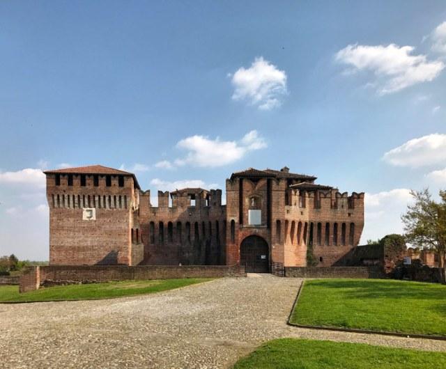 La Rocca di Soncino rende unica la visita di questo borgo più bello d'Italia