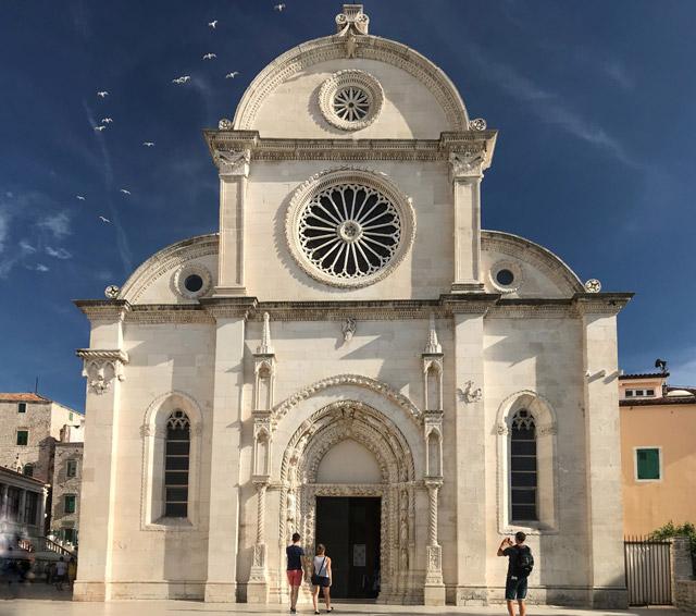 La Cattedrale di Sebenico è uno dei gioielli della Dalmazia e dell'intera Croazia