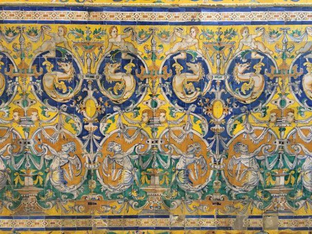 L'ultima parte da visitare del Real Alcazar di Siviglia sono i Salones de Carlo V