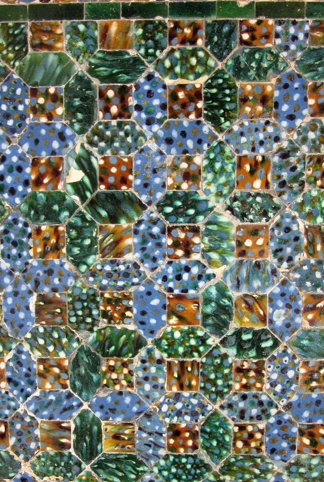La Casa de Pilatos a Siviglia ha bellissimi e coloratissimi azulejos mudeajr del '500