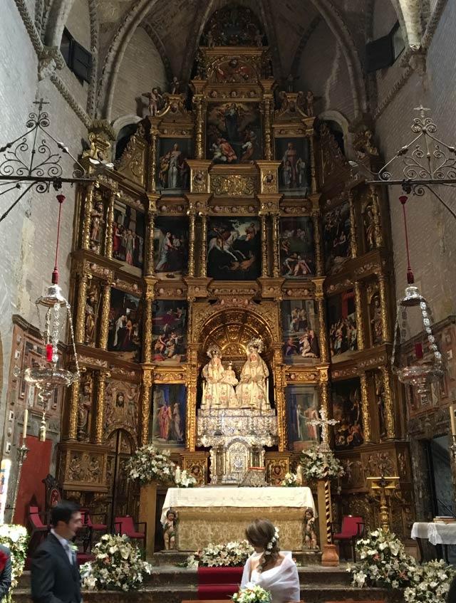La Chiesa di Santa Ana è la cosa più importante da visitare a Triana a Siviglia