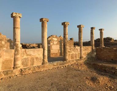 Pafos è una bellissima città con un grande parco archeologico pieno di tesori