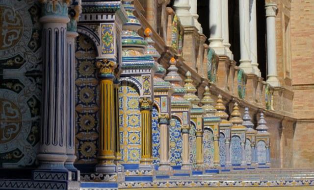Plaza de España è una delle zone più belle di Siviglia e dell'Andalusia