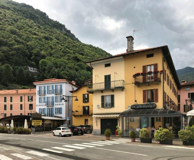 Dongo è un paese dell'Alto Lago di Como con un tranquillo lungolago