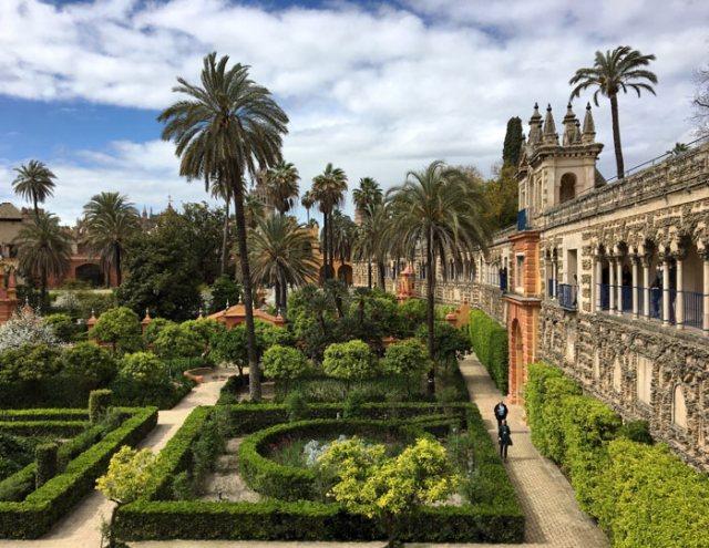 I giardini del Real Alcazar sono una delle meraviglie da visitare a Siviglia