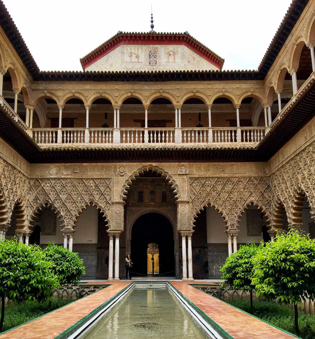 Il Real Alcázar è da vedere quando si va a visitare Siviglia in Andalusia