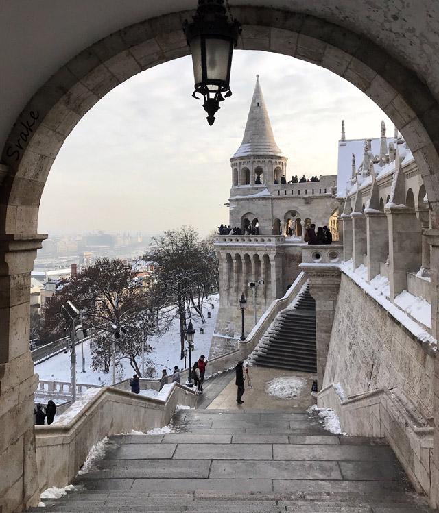 Il Bastione dei Pescatori è una delle cose da vedere e fotografare a Budapest