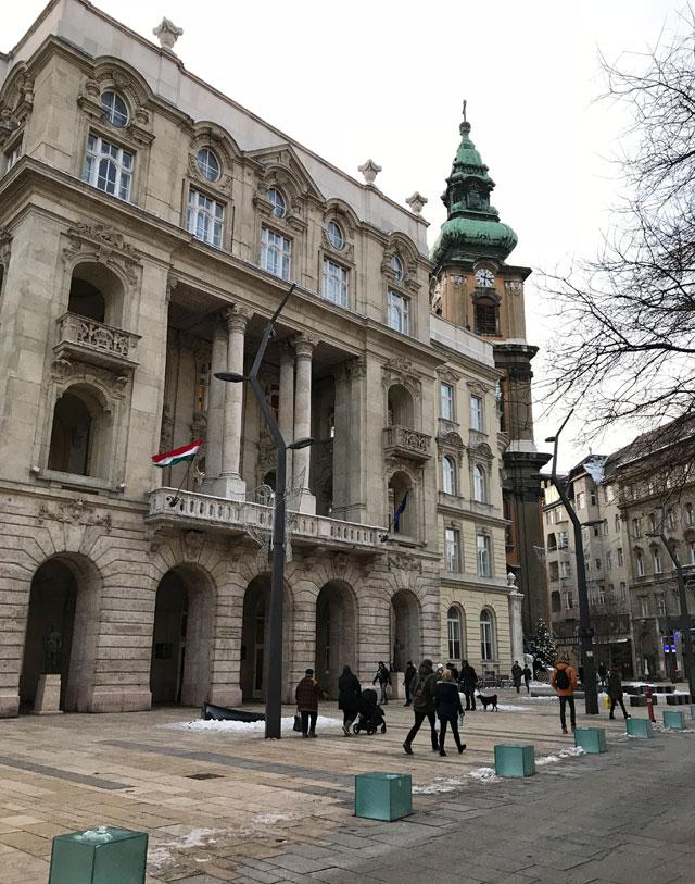 Il quartiere di Jozsefvaros è uno dei più eleganti e affascinanti di Budapest