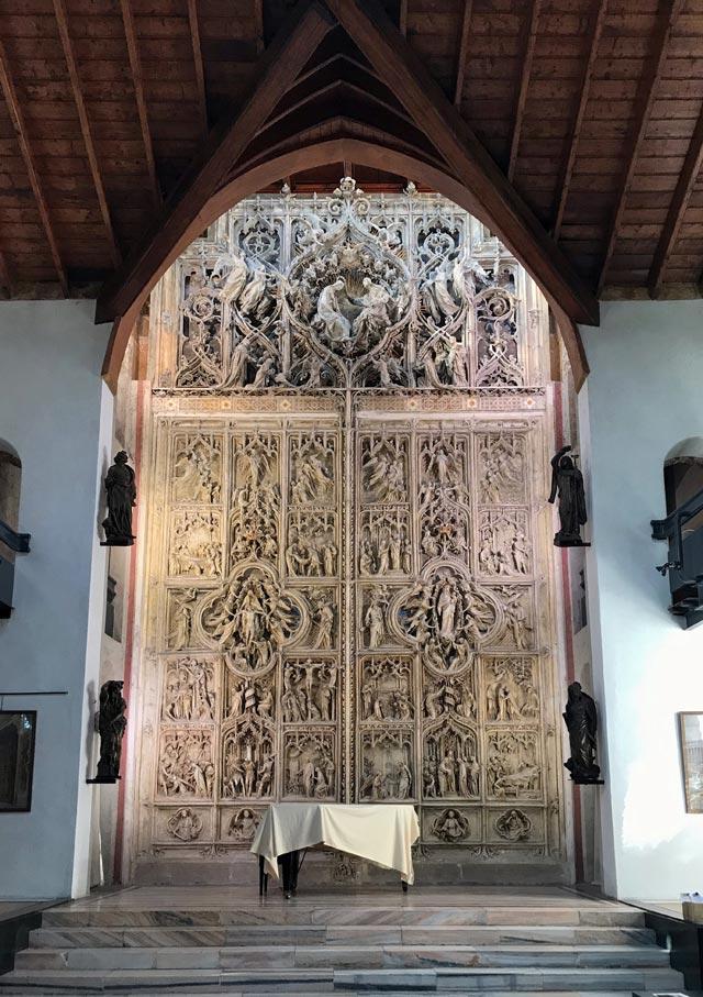Casa Pogliaghi era per l'artista una vetrina per esporre le opere d'arte da lui acquisite