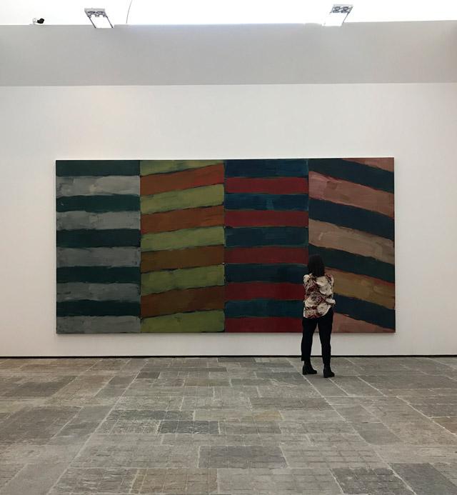 La mostra Long Light di Sean Scully è esposta a Villa Panza a Varese fino a gennaio 2020
