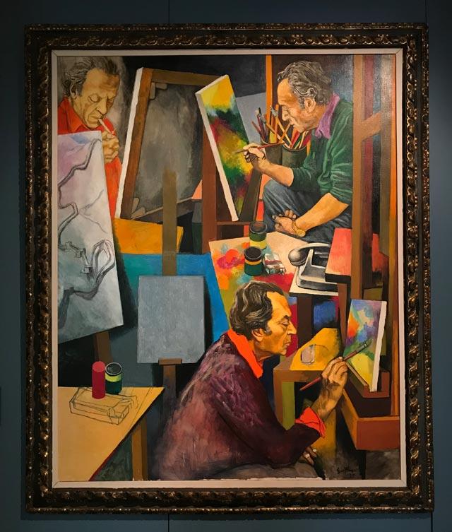 La mostra Renato Guttuso a Varese espone a Villa Mirabello 25 opere dell'artista
