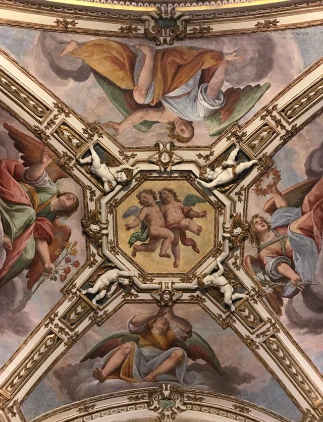 Il Santuario del Sacro Monte di Varese è decorato da affreschi barocchi del Fiamminghino
