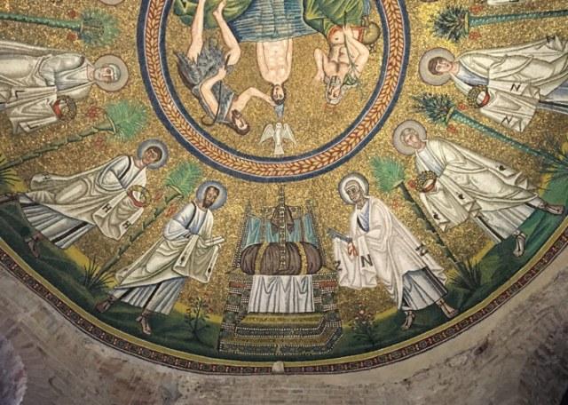 I mosaici del Battistero degli Ariani ha mosaici bizantini di grande qualità