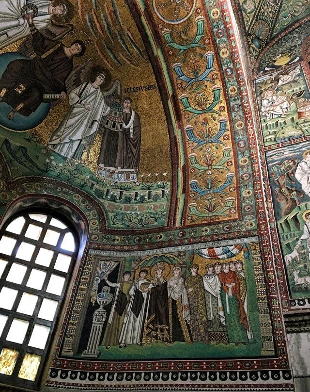 San Vitale a Ravenna è una delle cose da vedere in Emilia Romagna
